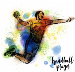 Figur Handball